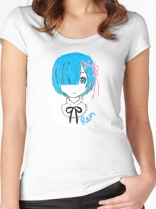 Re:Zero Rem Women's Fitted Scoop T-Shirt