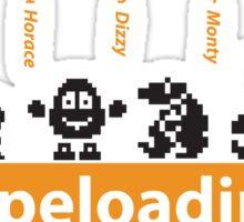 Tapeloading Sticker