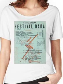 Dada Poster - Creative Commons Women's Relaxed Fit T-Shirt