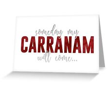 ToG Carranam Greeting Card