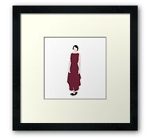 Lady Mary - Downton Abbey Framed Print