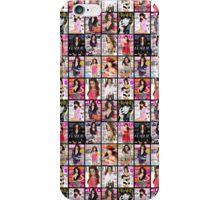 Lea magazine collage iPhone Case/Skin