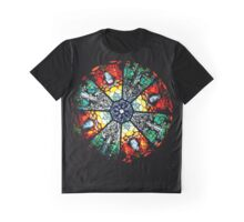 Stained glass window Graphic T-Shirt