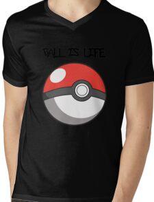 Pokeball is life! Mens V-Neck T-Shirt