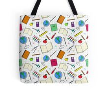 School supplies  Tote Bag