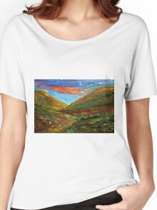Mourne Abstract 2 Women's Relaxed Fit T-Shirt