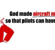 A Pilots Hero Sticker