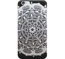 Peaceful Silver Symmetry iPhone Case/Skin