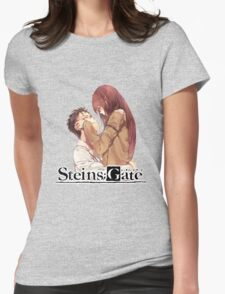 stiens;gate chubby cheeks  Womens Fitted T-Shirt