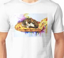 Pizza Slice Not Mice Painting  Unisex T-Shirt