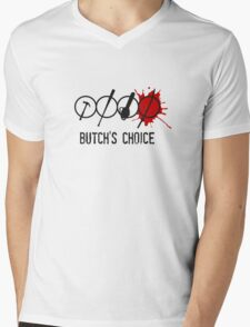 Butchs choice Mens V-Neck T-Shirt