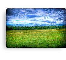 Canon Mountains Canvas Print