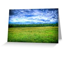Canon Mountains Greeting Card