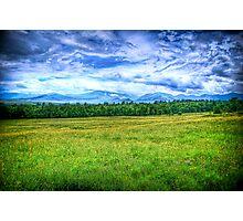 Canon Mountains Photographic Print