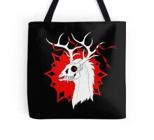 Ribbon Deer Tote Bag