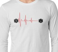 Crit Fail EKG Long Sleeve T-Shirt