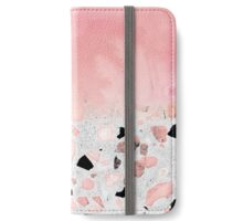 Modern abstract watercolor and marble design iPhone Wallet/Case/Skin