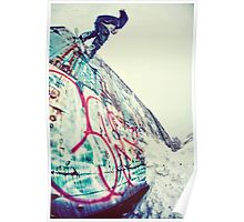 Urban Snowboarding in Plymouth Poster
