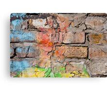 brick wall texture Canvas Print