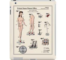 Barbie Doll Patent iPad Case/Skin