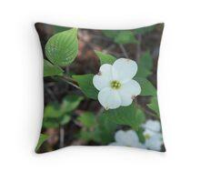 Welcoming Spring - Dogwood 2 Throw Pillow