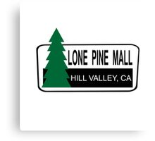 Lone Pine Mall - Back To The Future Canvas Print