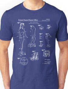 Barbie Doll Patent - Blueprint Unisex T-Shirt