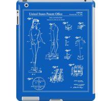 Barbie Doll Patent - Blueprint iPad Case/Skin