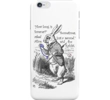 How Long Is Forever? iPhone Case/Skin