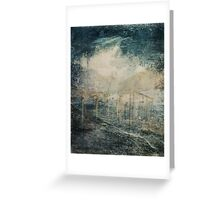 Between Order and Randomness Greeting Card