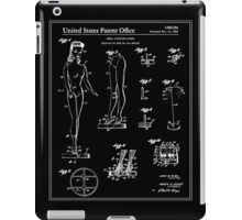 Barbie Doll Patent - Black iPad Case/Skin