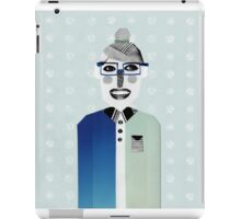 Happy geek girl iPad Case/Skin