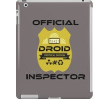 Official Droid Inspector iPad Case/Skin