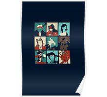 Final Pop Art Poster