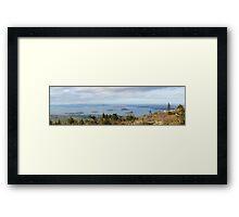 Cadillac Mountain Panorama 1 Framed Print