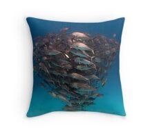 Trevally - print Throw Pillow