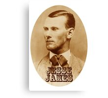 James Canvas Print