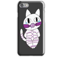 shibari kitty iPhone Case/Skin