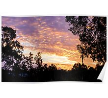 Bluewater Sunset Poster