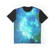 Blue Galaxy  Graphic T-Shirt