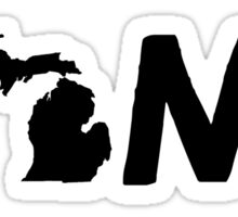 Michigan Home MI Pride Detroit Sticker