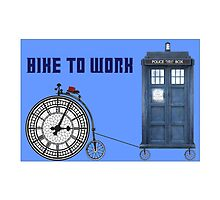 Dr. Bike To Work by Amantine