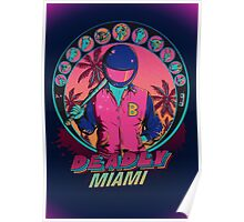 Deadly Miami Poster