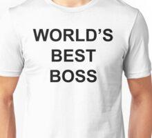 Best Boss Unisex T-Shirt
