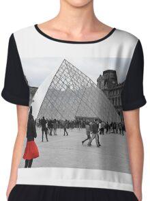 Le Louvre Chiffon Top
