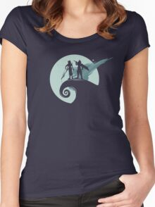Nightmare Before Fantasy Women's Fitted Scoop T-Shirt