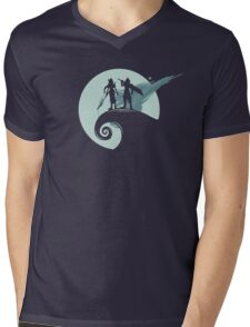 Nightmare Before Fantasy Mens V-Neck T-Shirt