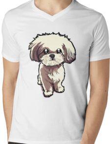 Alice (Shih Tzu) Mens V-Neck T-Shirt