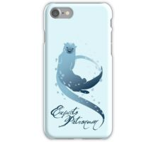 Expecto Patronum! (Otter) iPhone Case/Skin