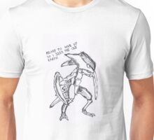 kabutops - ready to give up so i seek the old earth Unisex T-Shirt